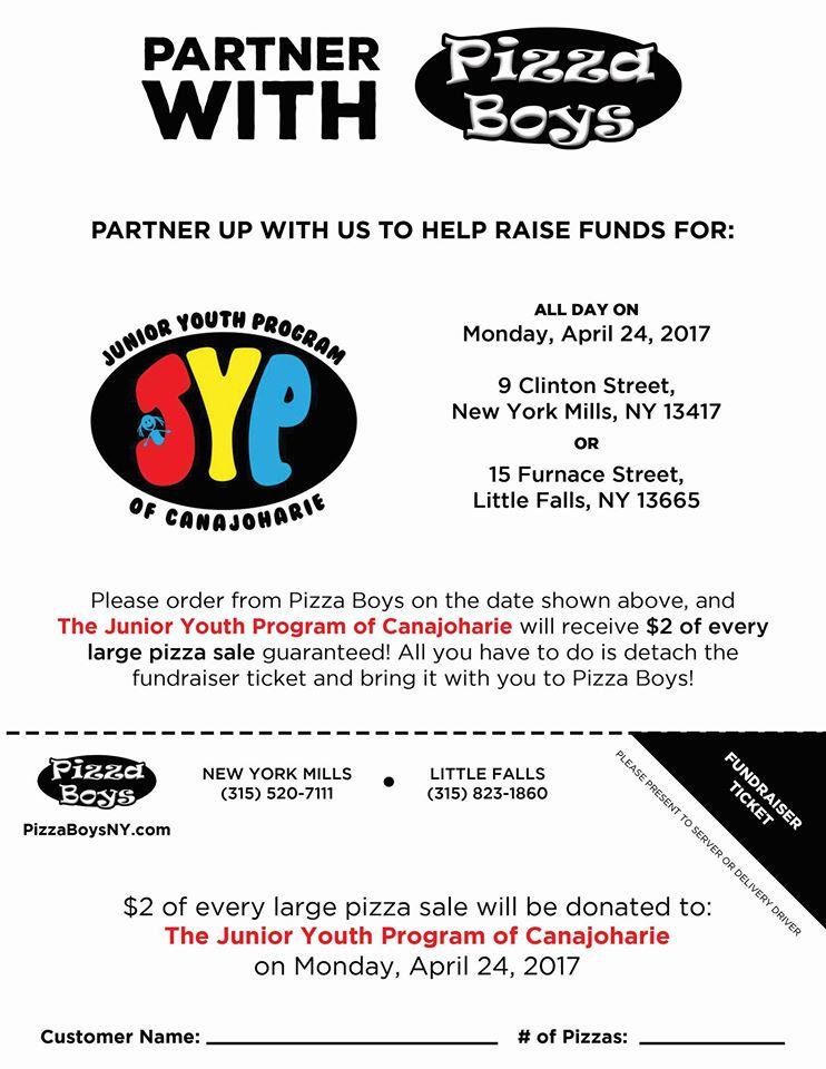 Pizza Boys Fundraiser @  |  |  |