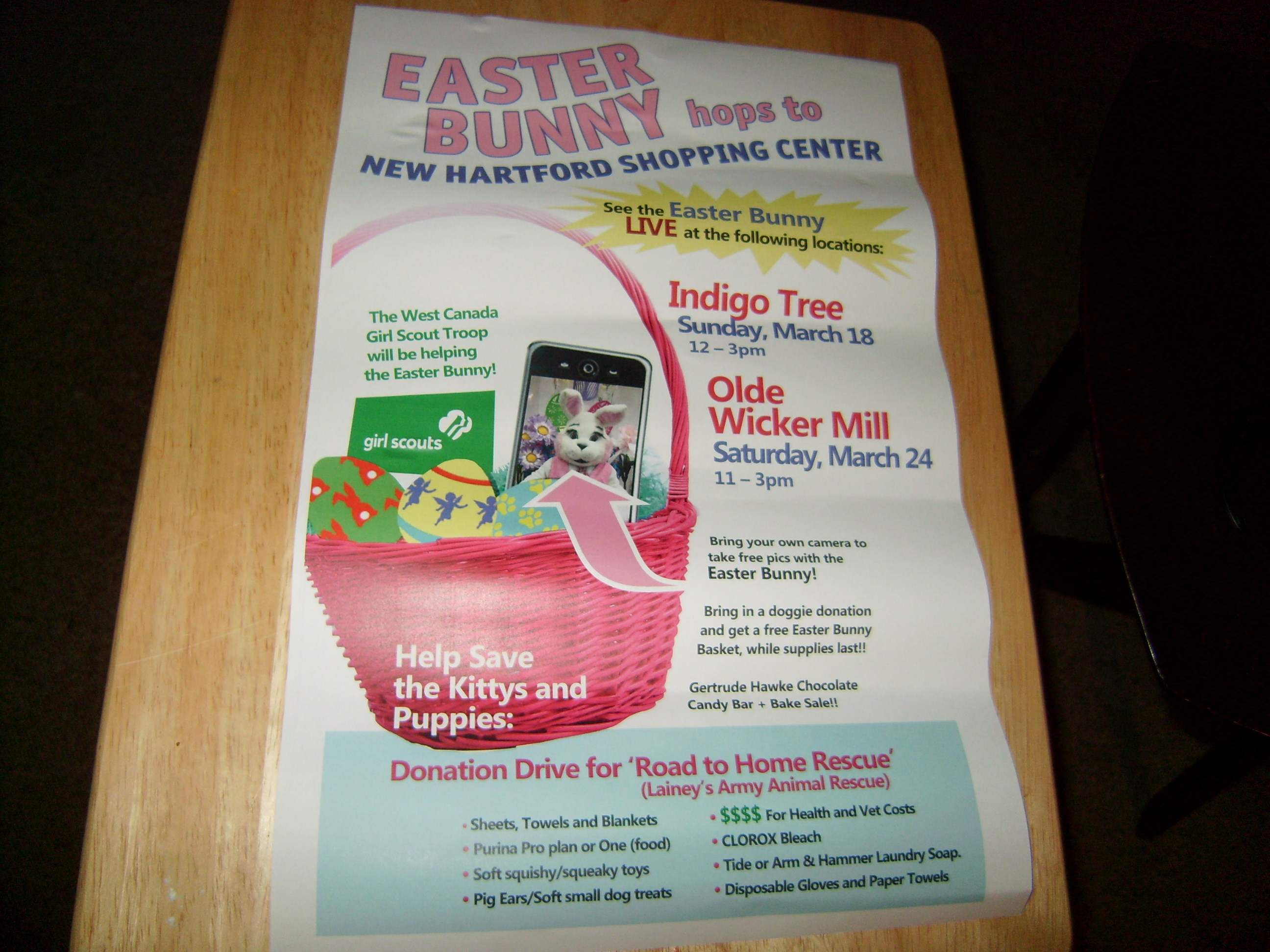 Easter Bunny to help Lainey's Army animal rescue @ | | |