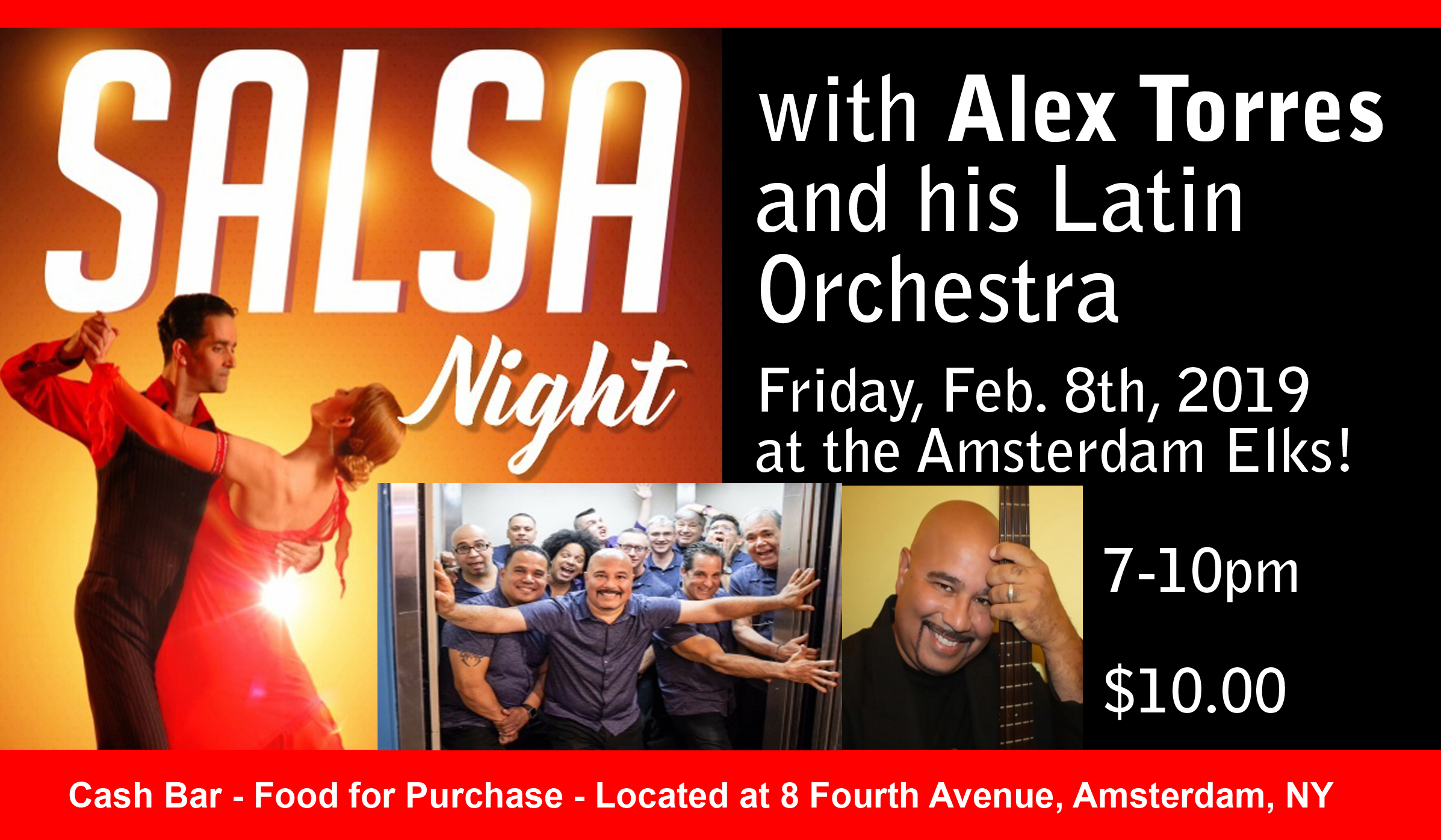 Alex Torres and his Latin Orchestra @ | | |