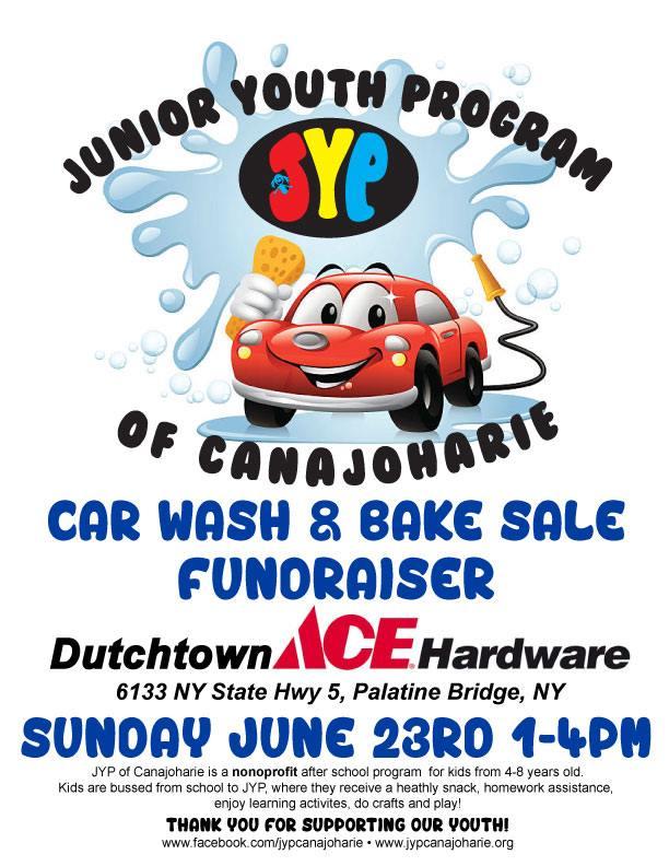 Car Wash and Bake Sale @  |  |  |