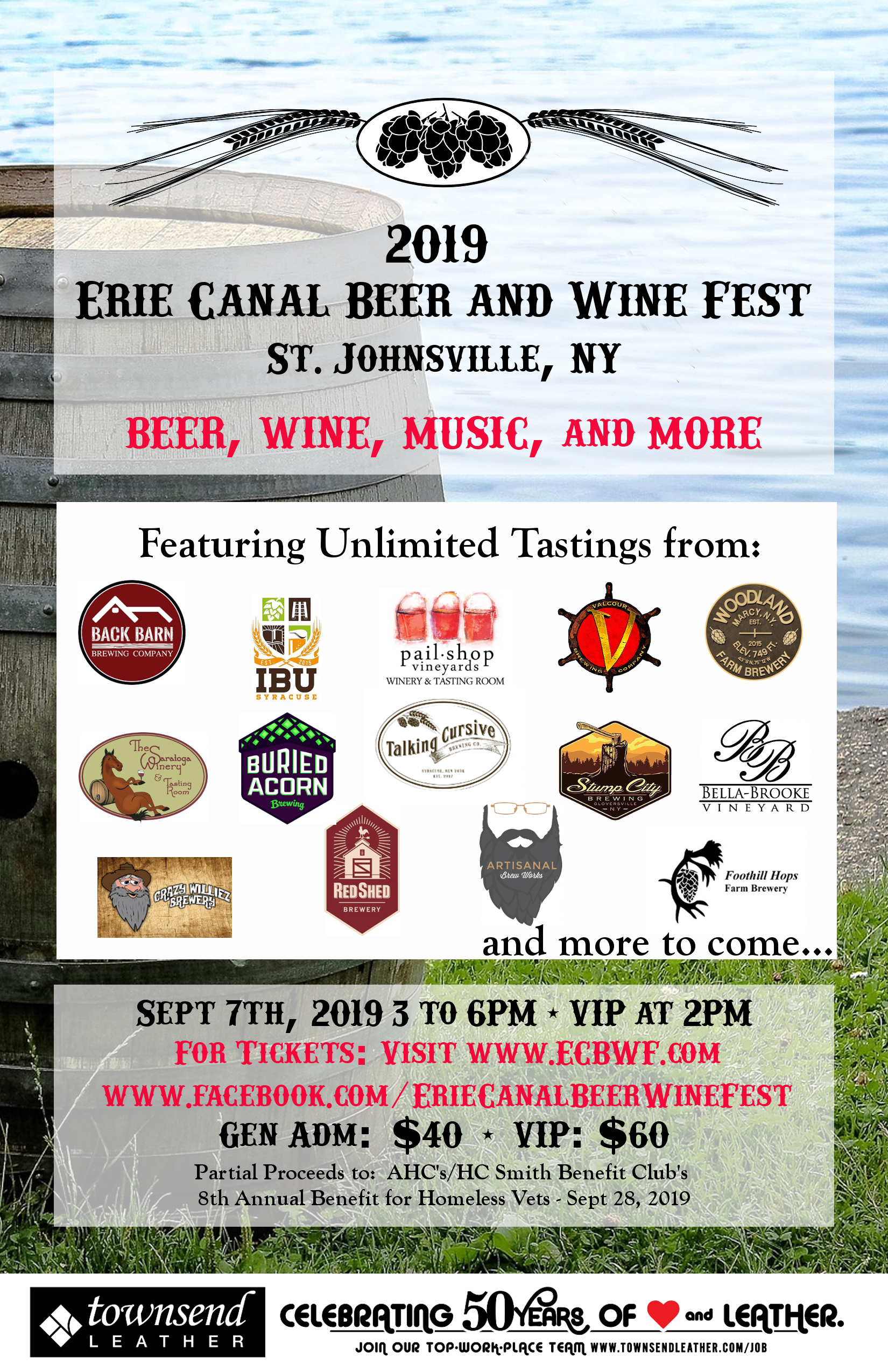 Erie Canal Beer and Wine Festival @  |  |  |