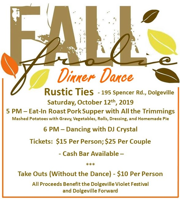 Fall Frolic - Dinner Dance Fundraising Event @  |  |  |