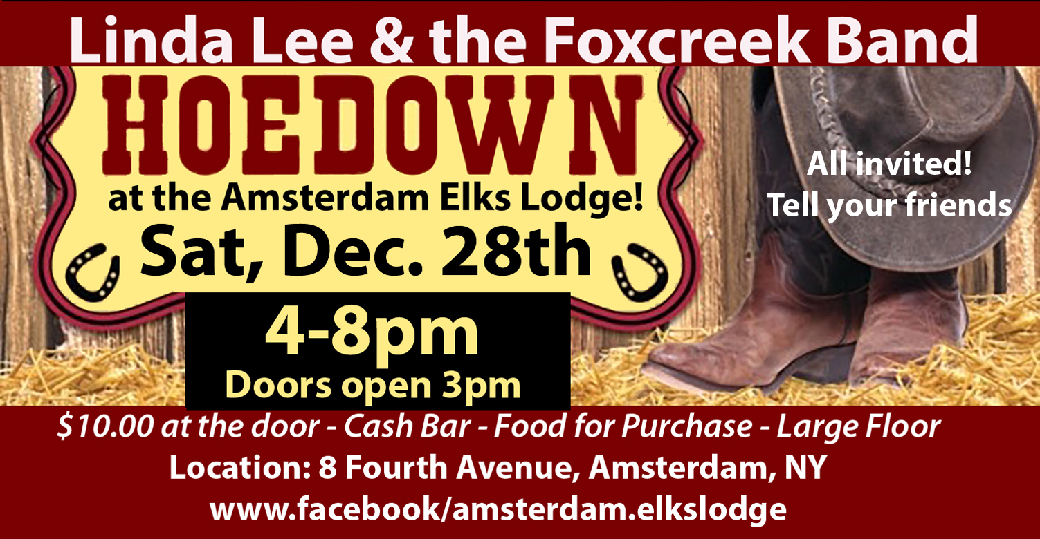 Country Hoe Down at the Amsterdam Elks Lodge @  |  |  |