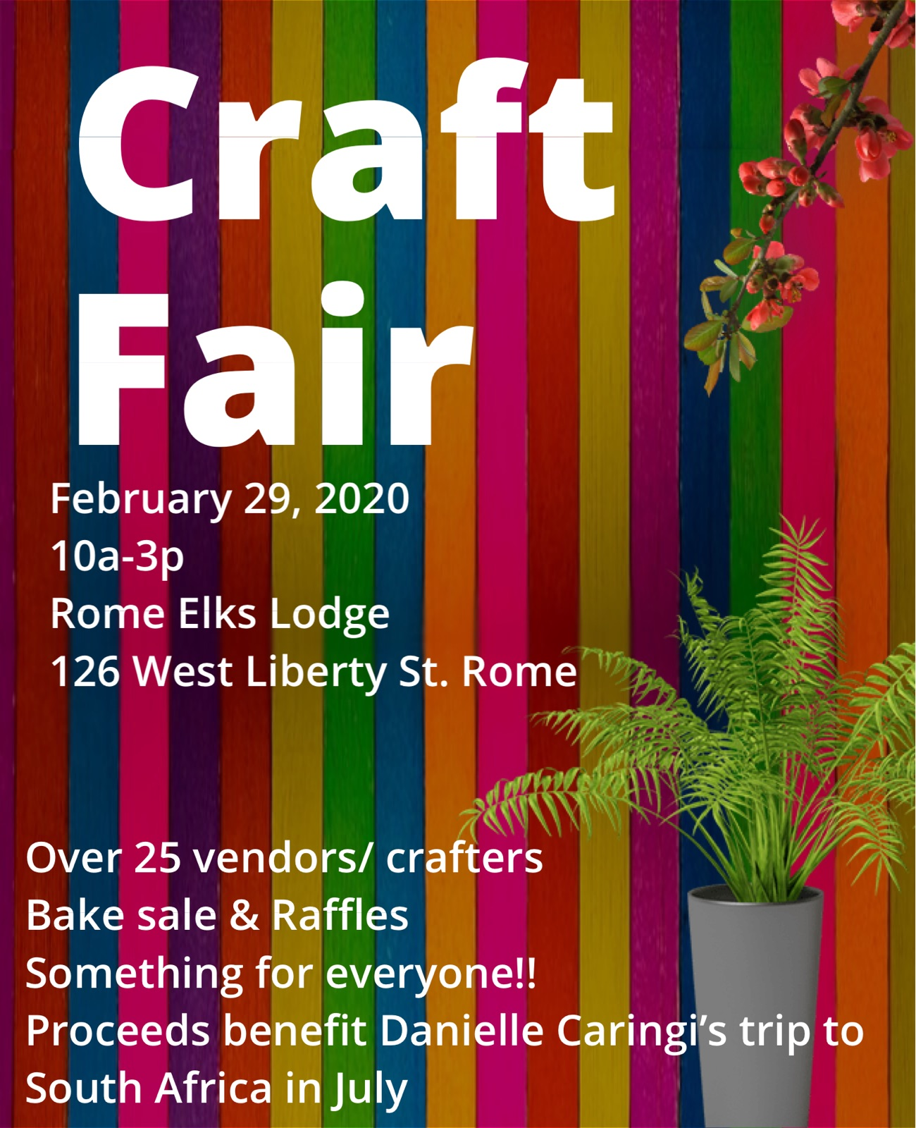 Dani's Craft Fair @  |  |  |