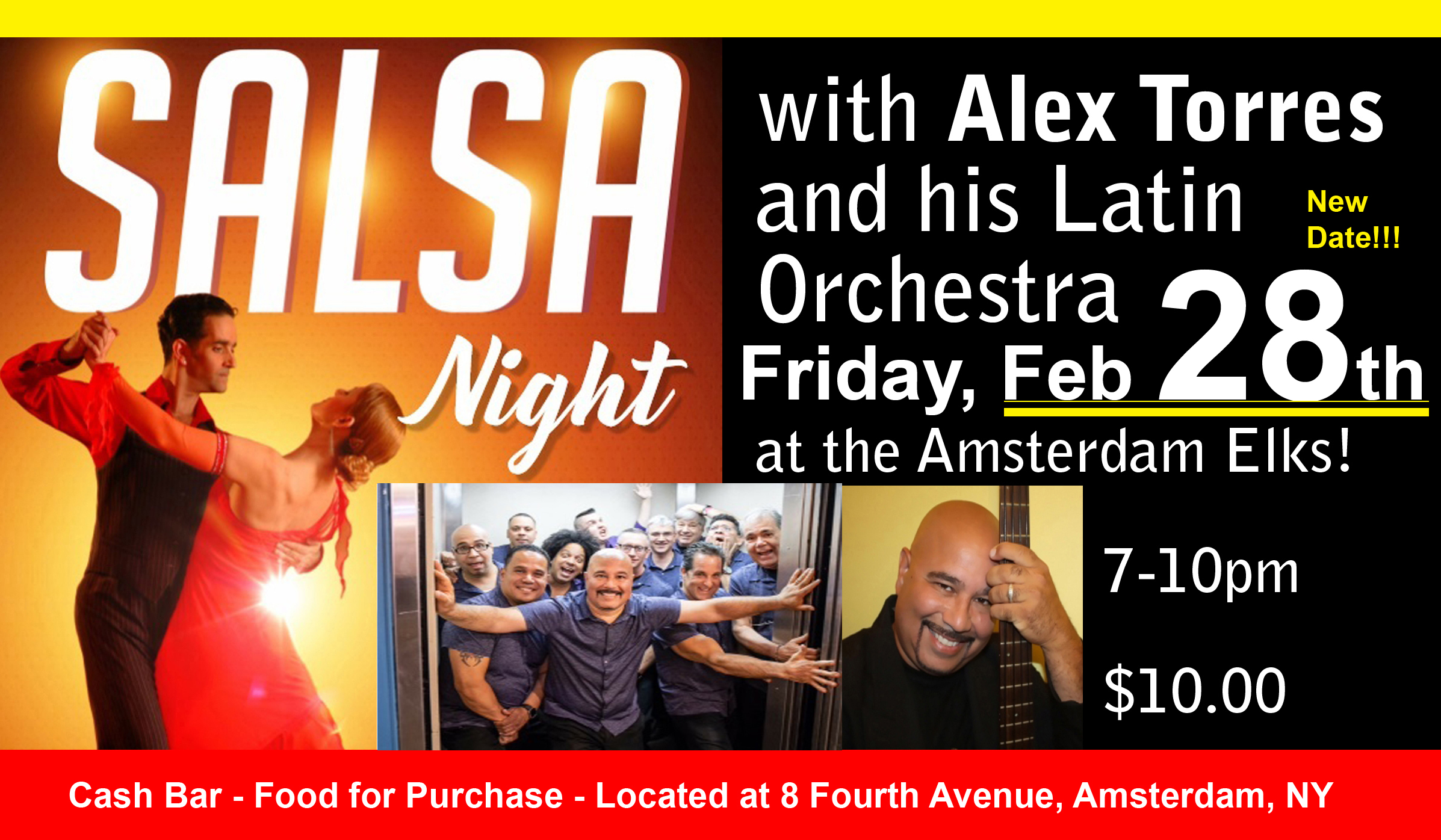 Alex Torres & his Latin Orchestra @  |  |  |