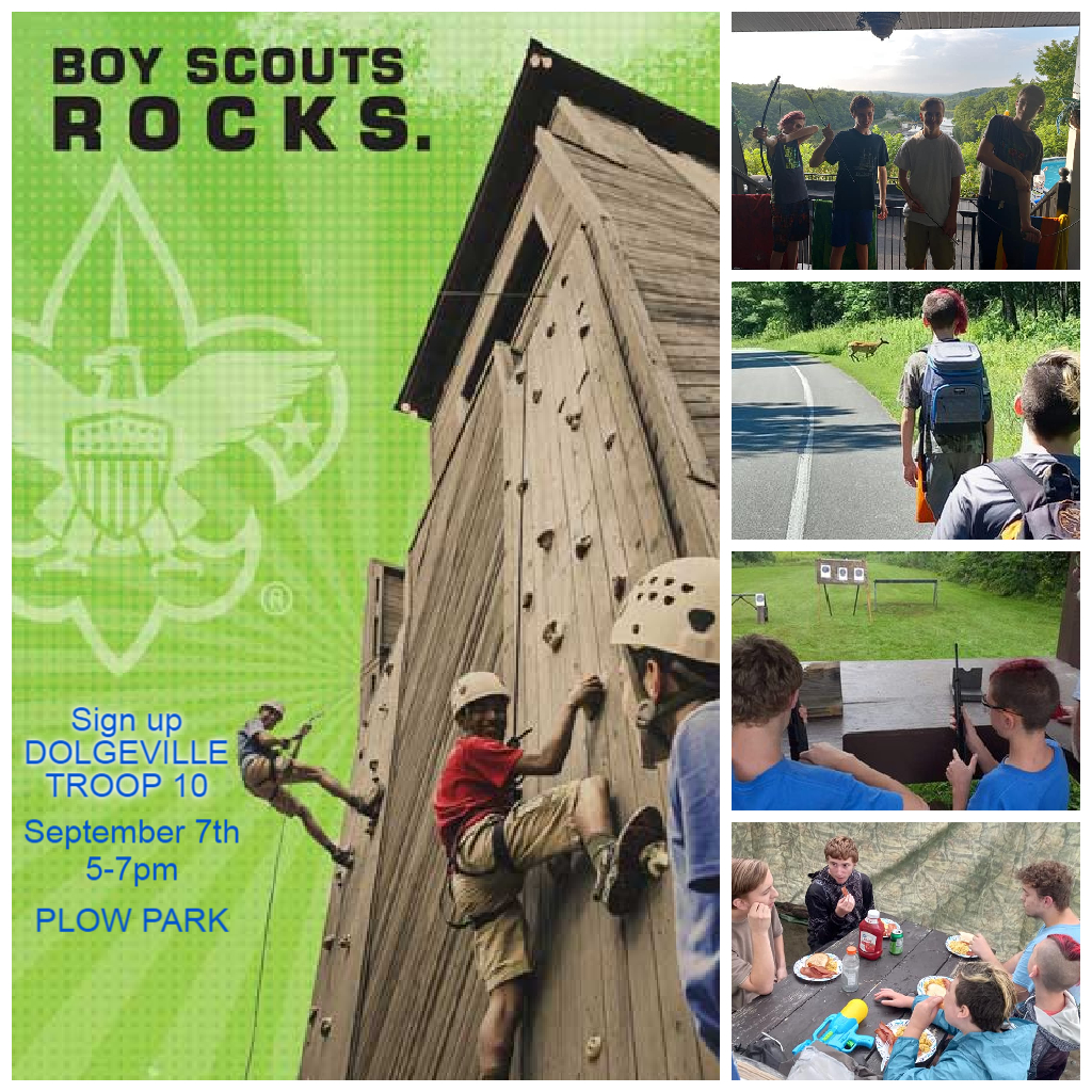 Boy Scout sign up @      