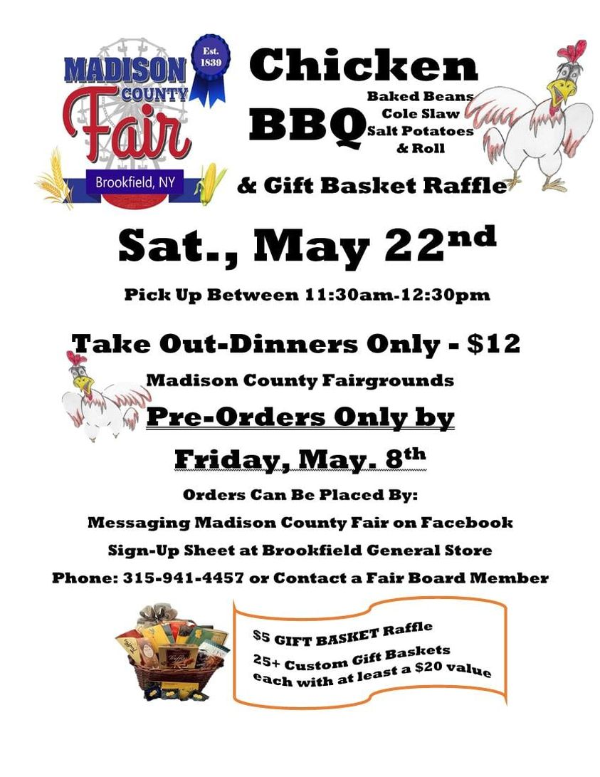 Chicken BBQ & Basket Raffle @  |  |  |