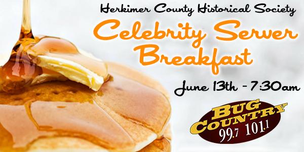Celebrity Server Breakfast @ | | |