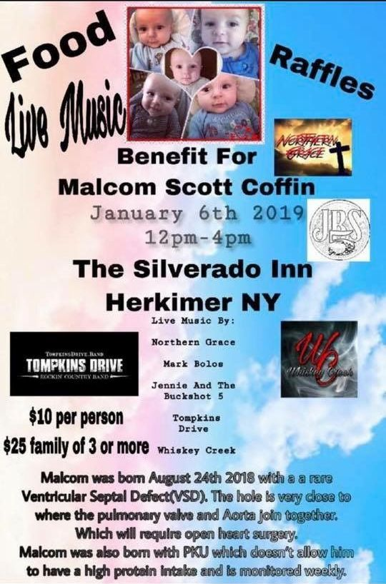 Malcom Scott Coffin Benefit @  |  |  |