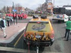 Heading into the Roundabout, St. Patrick's Day Parade Utica, 3-17-12