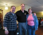 Mike & Linda Rundle, Grand Prize winners, with Dave Silvers