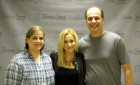 Bug Country's Dave Silvers & his wife Sandy backstage with Kellie Pickler