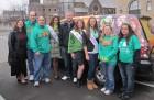 Miss New York Kaitlin Monte visits Bug Country for the St. Patrick's Day Parade in Utica, 3-17-12