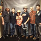 Joe Hickel with his Bug Country T-shirt backstage with the Eli Young Band, Turning Stone Showroom, 11-14-12