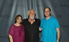 Bug Country's Dave Silvers & his wife Sandy backstage with legendary KENNY ROGERS, 12-20-12