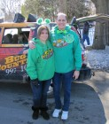 Dave Silvers & his wife Sandy, St Patrick's Day Parade Utica 3-9-13