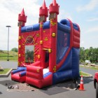 Loved the Bounce House! Fulton County Federal Credit Union 40th Annversary, Cash Cube, 6-22-12