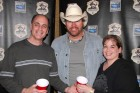 Bug Country's Dave Silvers & his wife Sandy meet Toby Keith backstage with red Solo cups, Turning Stone, 2-2-12