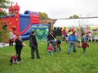 Bounce house too, at Alpine Rehab & Nursing Open House, 9-29-12