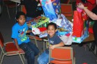 Cornerstone Community Church spreads the joy of Christmas with their Stuff the Bus toys, 2012