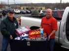 Herkimer Thruway maintenance crew, Stuff the Bus, Toys R Us New Hartford, 12-8-12