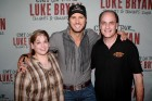 Bug Country's Dave Silvers & his wife Sandy backstage with Luke Bryan