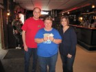 Polly Longway won $441 in the 50/50, with Dave Silvers & his wife Sandy, 5th Annual HALO Chinese Auction, Herkimer, 3-10-13