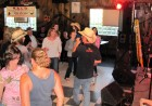 Fulton Chain Gang lead singer Blaine Holcomb in the crowd, HALO Hoedown, 9-16-12