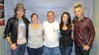 Mike & Linda Rundle of Edmeston, our Concert Express winners meet Gloriana