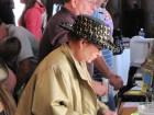 One of the many great hats!  HALO Hoedown, 9-16-12