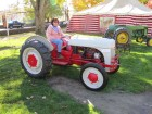 The oldest tractor on display: 1938
