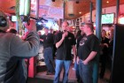 Dave Silvers interviews last year's CMA Flyaway Winner Joe Woodmansee of Gloversville, for WUTR-TV, 10-22-11
