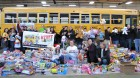 Staff, helpers & volunteers, Stuff the Bus Finale 2012
