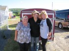 Sean Patrick McGraw with Bug listeners Polly & Susan, HALO Hoedown, 9-16-12