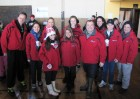 WUTR News Team at the Walk a Mile in My Shoes, Utica 2-9-13