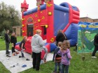 Free bounce house--Everything was free at Alpine Rehab & Nursing Open House, 9-29-12