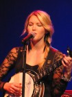 Glen Campbell's daughter Ashley, part of his band, Turning Stone Showroom, 4-20-12