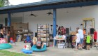 Garage sale, too, at Blue Diamond Pools, Nelliston Grand Prize Giveaway, 9-8-12