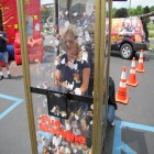 Gladys Small of Gloversville at Fulton County Federal Credit Union, 6-22-12