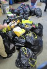2 of the charities take & they went back for more, Stuff the Bus Finale 2012