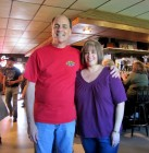 Bug Country's Dave Silvers & his wife Sandy, HALO Hoedown, 9-16-12