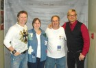 Bug Country tickets winners Mile & Linda Rundle backstage w/Craig Morgan & Phil Vassar