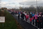 Quite a crowd! Making Strides Against Breast Cancer, Utica, 10-21-12