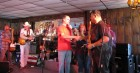 Dave Silvers thanks the Redneck Rodeo Cowboys in their FINAL appearance together, HALO Hoedown, 9-16-12