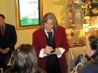 Billy Dean signs autographs after the Kenny Rogers Christmas Show, Turning Stone, 12-20-12