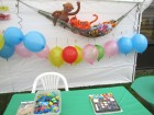 Some of the games at Alpine Rehab & Nursing Open House, 9-29-12