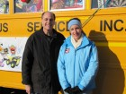 WKTV's Megan Koskovich joined Dave Silvers live at Stuff the Bus, Toys R Us, New Hartford, 12-10-11