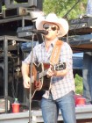 Justin Moore opens for Blake Shelton, Watertown Fairgrounds, July 2012