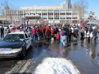 Getting ready, Walk a Mile in My Shoes, Hanna Park, Utica 2-9-13