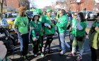 WUTR's Joe Parker interviews 1 of the CNY Roller Derby members, St Patrick's Day Parade Utica 3-9-13